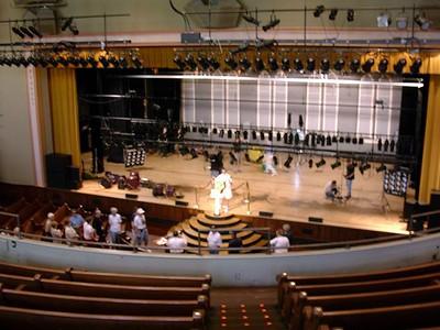 Ryman Auditorium from the Balcony