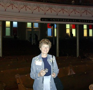 Ruth Protivnak  at the Ryman
