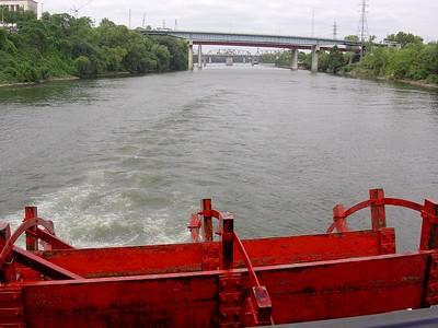 Jackson Paddlewheeling down  the Cumberland