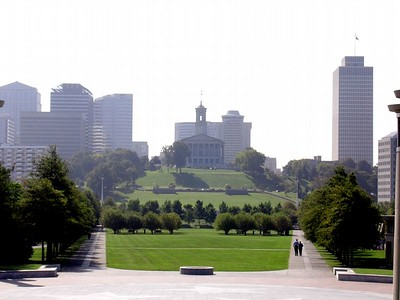 Capital Building from Bi-Centenial Park