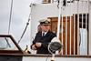 In Command of MV Balmoral at Custom House Quay, Greenock - 23 September 2016