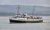 MV Balmoral passing Port Glasgow - 23 September 2016