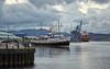 MV Balmoral departing Custom House Quay, Greenock - 25 September 2016