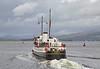 MV Balmoral Departing Custom House Quay, Greenock - 23 September 2016