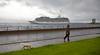 Wet Welcome to 'Marina' off Greenock Esplanade - 27 July 2015