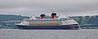 'Disney Magic' departing Greenock - 11 June 2016