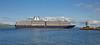 'Zuiderdam' off Greenock Esplanade - 23 May 2016
