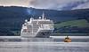 'Siver Spirit' off Greenock Ocean Terminal - 19 September 2021
