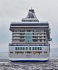 'Marina' canting off Greenock Esplanade - 27 July 2015