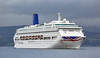 'Oriana' off Greenock Esplanade - 31 August 2016