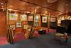 Gallery aboard the 'MS Eurodam' at Greenock - 1 July 2015