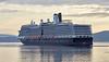 'MS Eurodam' canting off Greenock Esplanade - 1 July 201515