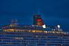 'Queen Elizabeth' off Greenock - 8 October 2021