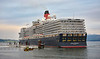 'Queen Elizabeth' off Greenock - 5 September 2021