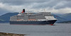 'Queen Elizabeth' off Greenock Esplanade - 30 June 2016