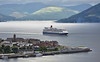'Queen Elizabeth' off Gourock - 30 June 2016