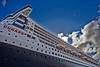 Cruise Ship - Queen Mary 2 - Ocean Terminal - 15 May 2013