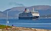 'Queen Victoria' off Greenock Esplanade - 16 May 2018