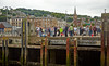 Berthing at Rothesay on the PS Waverley 'Lochranza' Cruise - 20 July 2014