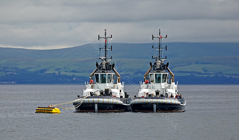 Seeing Double from the PS Waverley on her 'Lochranza' Cruise - 20 July 2014