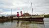 PS Waverley at Lochranza Pier on her 'Lochranza' Cruise - 20 July 2014