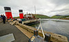 PS Waverley at Lochranza Pier on her 'Lochranza' Cruise - 20 July 2014