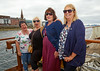Happy Girls on the PS Waverley 'Lochranza' Cruise at Greenock - 20 July 2014