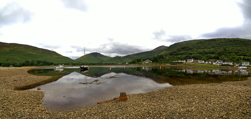 Lochranza View on the PS Waverley Cruise - 20 July 2014