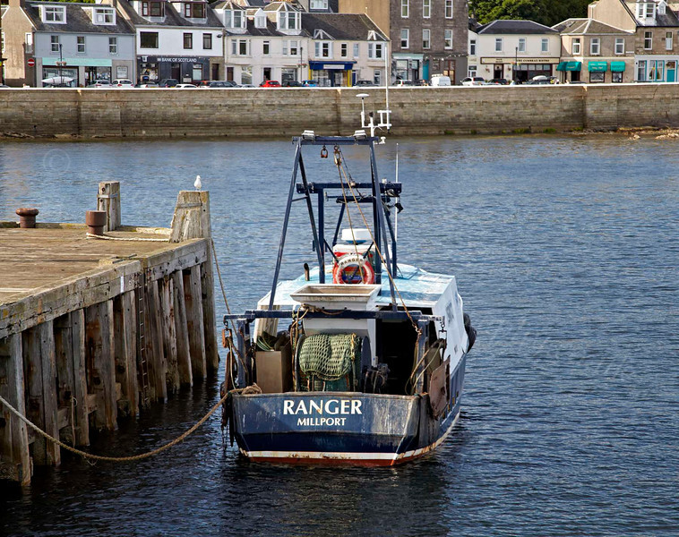 From PS Waverley - 'Ranger' Trawler in Millport - 12 July 2012