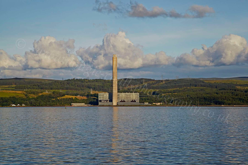 From PS Waverley - Inverkip Chimney - 12 July 2012
