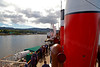 PS Waverley - Approaching Brodick, Arran - 12 July 2012