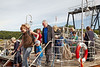 PS Waverley - Passengers Embarking at Brodick - 12 July 2012