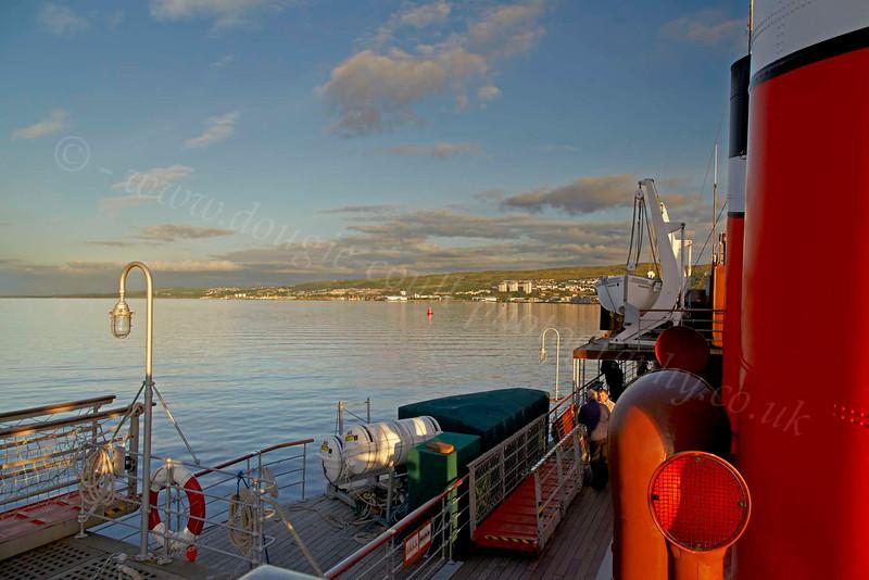 PS Waverley Back at Greenock - 12 July 2012