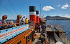 Approaching Holy Island on the PS Waverley Cruise - 3 August 2017