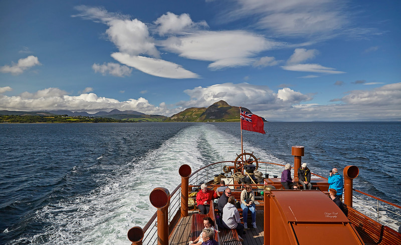 Image from PS Waverley Cruise of 2017 at Greenock - 3 August 2017