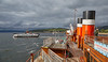 PS Waverley Cruise of 2017 at Largs - 3 August 2017
