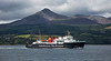 'Isle of Arran' leaving Brodick Brodick from PS Waverley Cruise -  3 August 2017