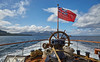 Departing Brodick on the PS Waverley Cruise of 2017 - 3 August 2017