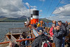 Approaching Brodick on the PS Waverley Cruise of 2017 - 3 August 2017