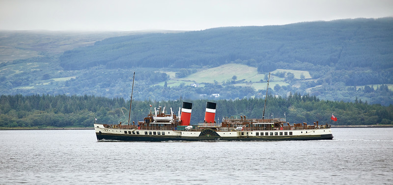 PS Waverley at Greenock - 14 August 2020