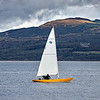 Yacht off East India Harbour - 19 September 2021
