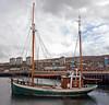 Nordcaperen - Grimbsy Registered - in East India Harbour, Greenock