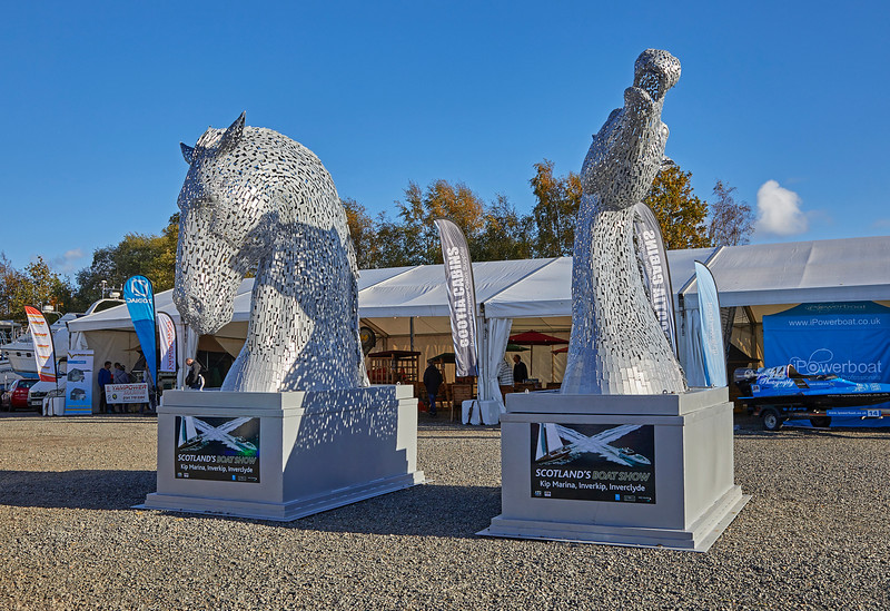The Wee Kelpies at the Kip Marina Boat Show - 14 October 2018