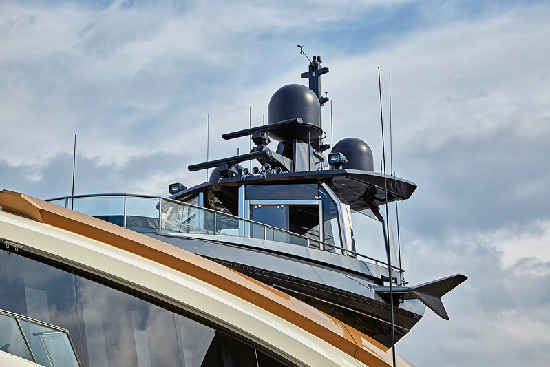'Lady M' at James Watt Dock Marina - 9 April 2017