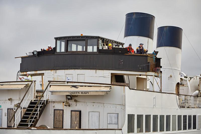 TS Queen Mary at James Watt Dock - 9 November 2016