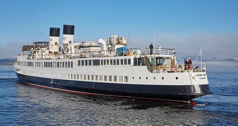 TS Queen Mary at James Watt Dock - 1 October 2016