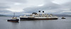 TS Queen Mary at James Watt Dock - 1 September 2016