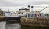 TS Queen Mary at James Watt Dock - 1 September 2016