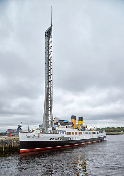 TS Queen Mary in Glasgow - 1 September 2018