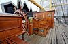 'Poop Deck' on the Glenlee Tall Ship - 13 October 20133